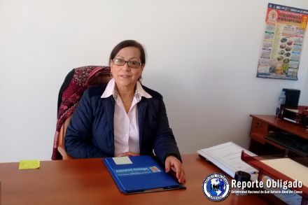 Dra. Ruth Miranda, Defensora Universitaria de la UNSAAC